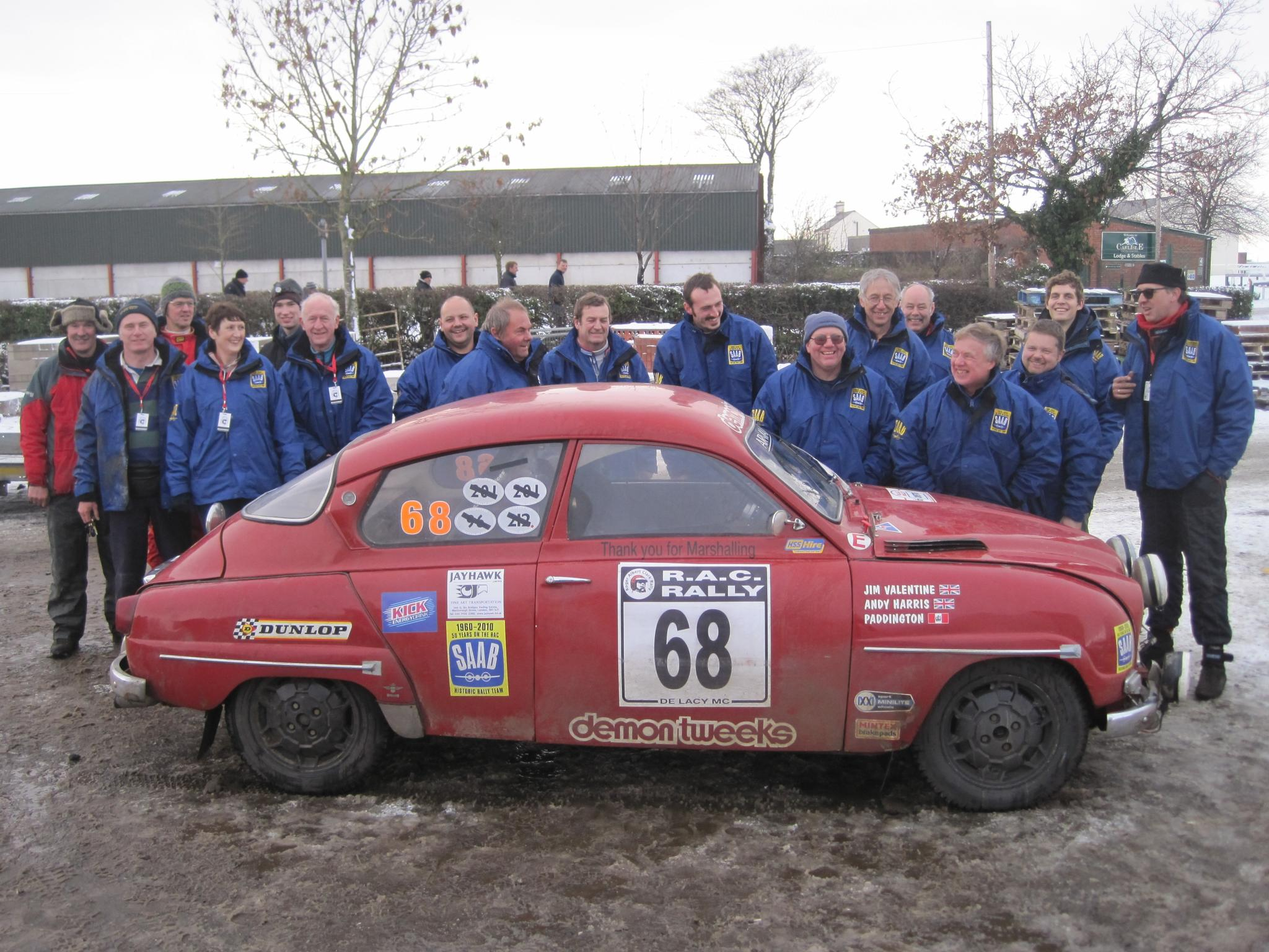Saab Historic Rally Team 2010