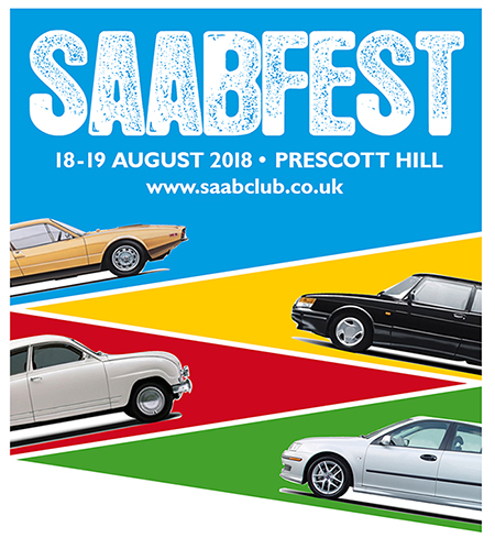 SAABFEST PRESCOTT LOGO with cars SMALLEST