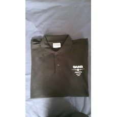 Black Polo T-Shirt also available in other colours